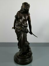 Figur,Georges Charles Coudray,Judith,Holopherne,Gießerei,E.BLOT,Paris,Metall