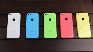 Genuine Apple iPhone 5C CHASSIS HOUSING WITH PARTS - GOOD CONDITION