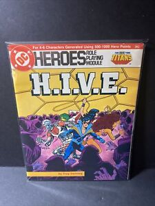 DC HEROES ROLE PLAYING MODULE NEW TEEN TITANS #202 H.I.V.E.