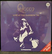Queen Live At The Rainbow '74 Vinyl DeAGOSTINI Japan Sealed No. 13 2 LP