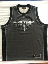 GASP BRANCH WARREN TRAIN INSANE NO COMPROMISES XL Tank Top Mesh Bodybuilding