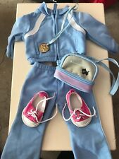 american girl doll track suit outfit, perfect condition in original box