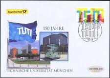 BRD 2018: TU München 150 Jahre! Post-FDC der Nr. 3374 mit Berliner Stempel! 1902