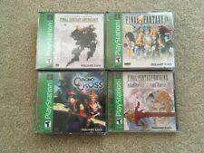 Final Fantasy IX Origins Anthology Chrono Cross PlayStation BRAND NEW PS1 Lot