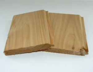 SAMPLE - Quality British Western Red Cedar Cladding - TGV Tongue And Groove