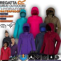 Regatta Jacket Womens Daysha Waterproof Hiking Lightweight Gym Work Hoodie Top