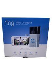 Ring Video Doorbell 2 Satin Nickel