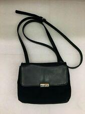 Nine West Handbag Purse Black Mini Crossbody