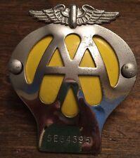 British AA Automobile Association Car Club Badge from the United Kingdom England