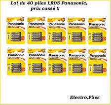 Lot de 40 piles LR06, AA, de Panasonic, PROMO PRIX CASSé !!