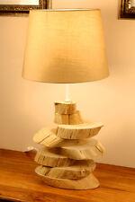 madera de combustible Lámpara Alcorque Driftwood Flotante Shabby