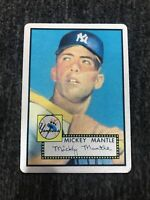 Mickey Mantle Keeper Series 1952 Topps #311 Metal. Near Mint-mint Rookie, SP