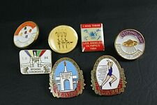 Vintage 1984 Los Angeles Olympics Collectible Pin lot Olympic Games Lot of 7
