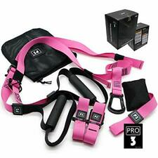Total All-in-One Suspension Training Kit Pink | Exercise Bands|