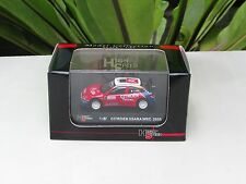High Speed 1/87 Diecast  Car Citroen Xsara WRC 2005 Rally Monte Carlo Winner #1
