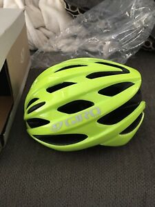 Giro Trinity Adult Universal Fit Cycling Bicycle Helmet Highlight Yellow New