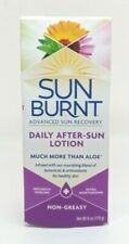 SunBurnt Advanced Sun Recovery 6oz Daily After Sun Lotion NO SULFATES / PARABENS