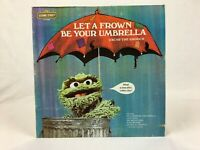1974 Sesame Street - Oscar The Grouch - Let A Frown Be Your Umbrella Record