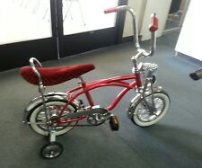 "NEW 12"" KIDS LOWRIDER BICYCLE  PURPLE,RED,BLUE,BLACK,GREEN OR CHROME"