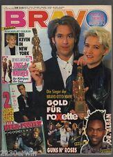 BRAVO 1 / 30.12.1992 / BEATLES, ROXETTE, AC/DC, METALLICA /+ JASON+LUKE-PLAKATE