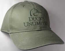 Hat Cap Licensed Ducks Unlimited Olive Green Hunting OC