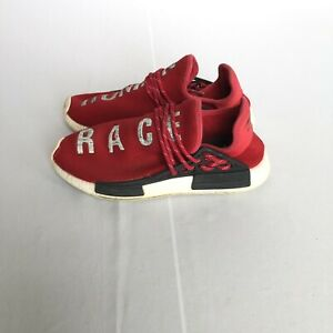 Adidas NMD X Pharrell Williams Human Race Red Size 8.5