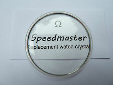 NEW REPLACEMENT GLASS/CRYSTAL TO FIT OMEGA SPEEDMASTER PROFESSIONAL & MOON WATCH