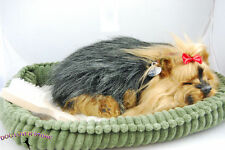Yorkie Perfect Petzzz Life Like Stuffed Animal Breathing Dog