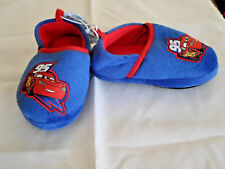 Disney Pixar Cars Lightning McQueen Toddler Slippers Sz 7/8
