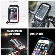 Motorcycle Waterproof Motorcycle Handlebar Sunshade Holder Mount Case For iPhone (Fits: Bear Bones)