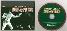 "ELVIS PRESLEY CD ""AMARILLO '77"" 2011 FTD #101 DELETED MARCH 24 1977 TEXAS + MORE"