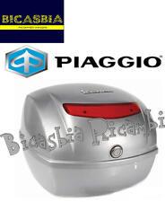 9419 - BAULETTO POSTERIORE 32 LT GRIGIO EXCALIBUR 738/A VESPA 50 125 150 LX