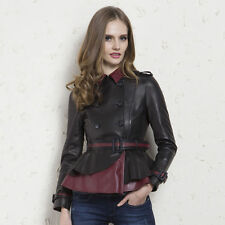 Leather Other Plus Size Coats & Jackets for Women