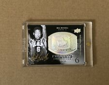 2010-11 Exquisite Collection BILL RUSSELL Championship Bling Autograph Auto /50