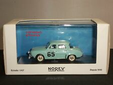 NOREV 513094 RENAULT DAUPHINE BLUE MONTE CARLO RALLY 1958 DIECAST MODEL CAR
