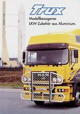 MAN F2000 M2000 F90 M90 Prospekt Aluminium-Zubehör v. Trux 1999 brochure Katalog