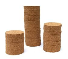 Cork Round Coasters 50pcs Arts and Crafts