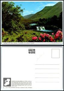 IRELAND Postcard - Connemara, Aasleagh Falls near Leenane B16