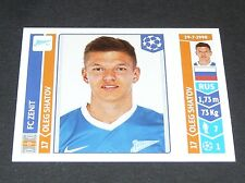 207 SHATOV ZENIT ST PETERSBURG PANINI FOOTBALL UEFA CHAMPIONS LEAGUE 2014-2015