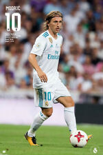 Luca Modric GAME NIGHT 2018 Real Madrid Soccer Official La Liga Import POSTER