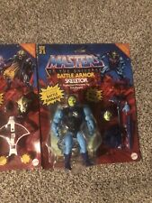 masters of the universe lot deluxe sets Hordak, Skeletor,and He-Man Deluxe Sets