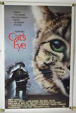 CAT'S EYE ROLLED ORIG 1SH MOVIE POSTER DREW BARRYMORE STEPHEN KING (1985)