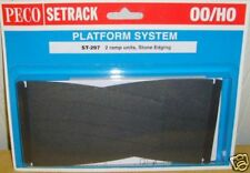 Peco 00 Setrack ST-297 Platform Ramps - Stone (00) Model Railway