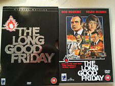 Bob Hoskins Long Good Friday - RARO ANCORA Bay UK DVD con / Extras + Copertina