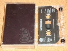 METALLICA - Metallica (Black) - cassette tape album