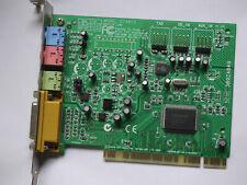 PCI-Karte Creative Labs - Modell CT4810 -  interne Sound Karte mit Gameport