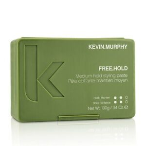 NEW Kevin.Murphy Free.Hold (Medium Hold. Styling Paste) 100g Mens Hair Care