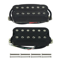 Alnico 5 Double Coil Humbucker Electric Guitar Pickup Neck / Bridge / Set 3Color
