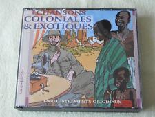 RARE COFFRET 2 CD CHANSONS COLONIALES & EXOTIQUES 1906 1942 EPM 983312 EX 1995
