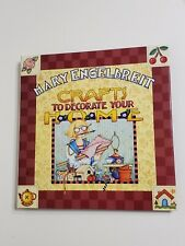 Mary Engelbreit Crafts To Decorate Your Home Book, Excellent Condition